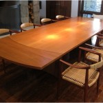 Gallery_Teak arched tressle dining table with leaves
