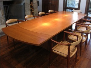 Tressle table with extensions