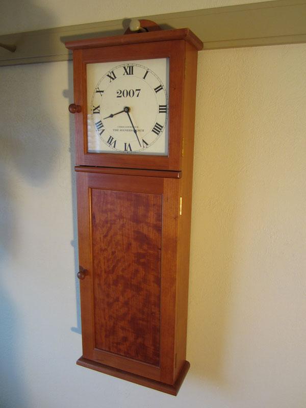 Shaker Wall Clock Chris Gochnour