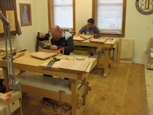 Chiseling dovetail baselines