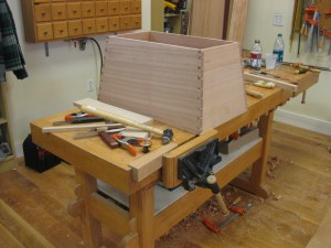 The chest is now dry fit