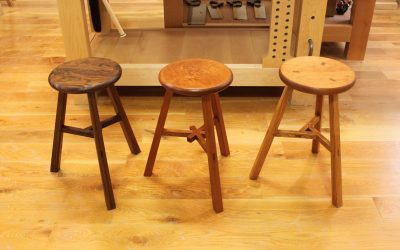 Classic 19th Century Chinese stools